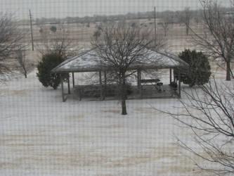 Snow in Oklahoma by phdmatt2002