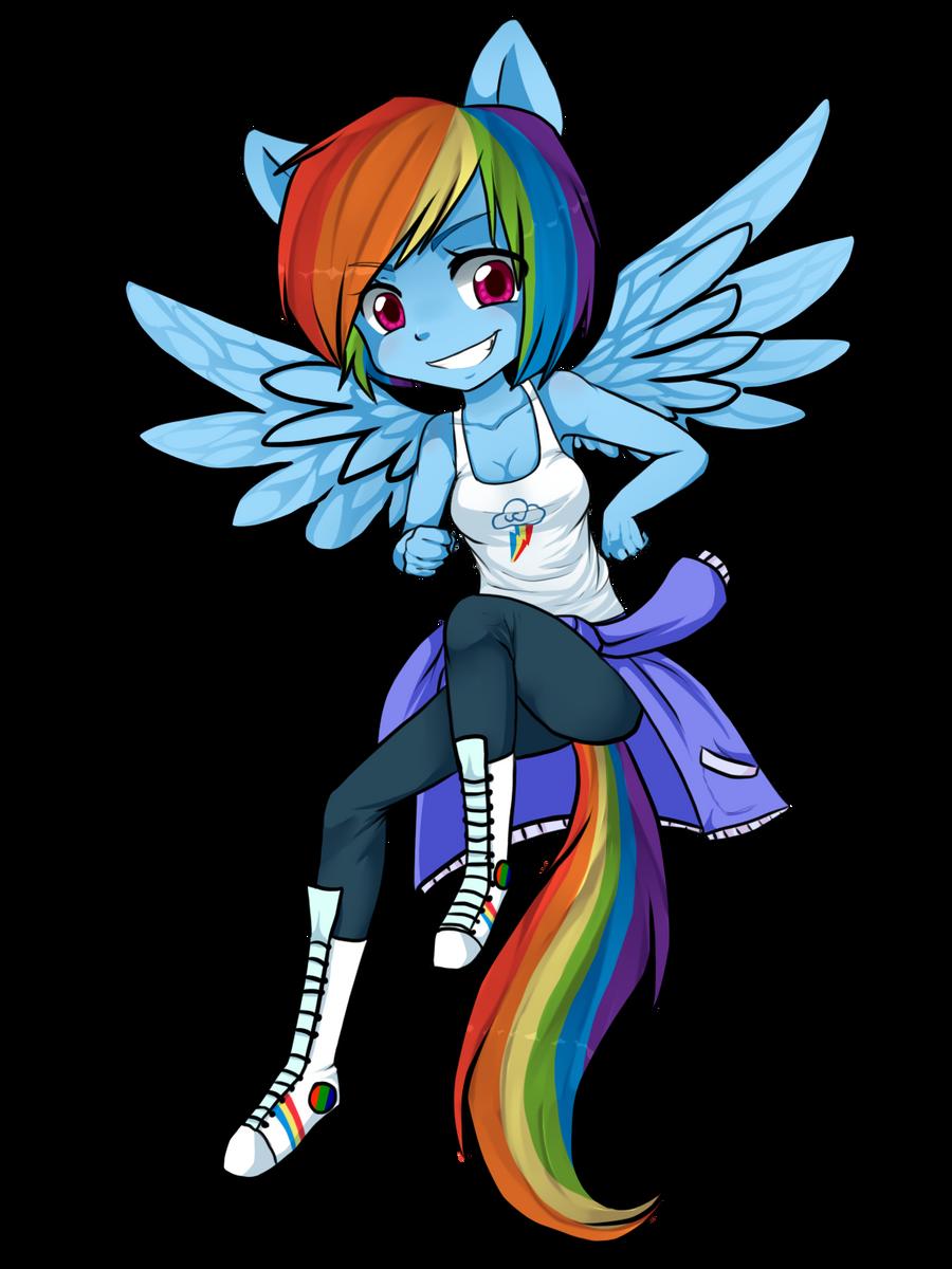 Chibi Rainbow Dash by ninetail-fox on DeviantArt