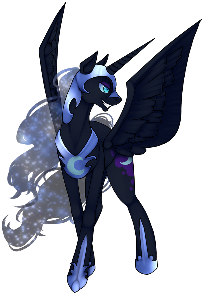 Nightmare Moon by ninetail-fox