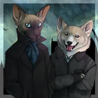 Catlock and DogJohn