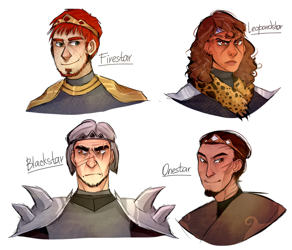 WH Leaders by ninetail-fox