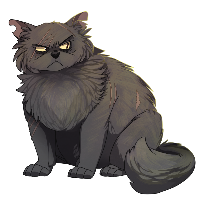 Yellowfang by ninetail-fox