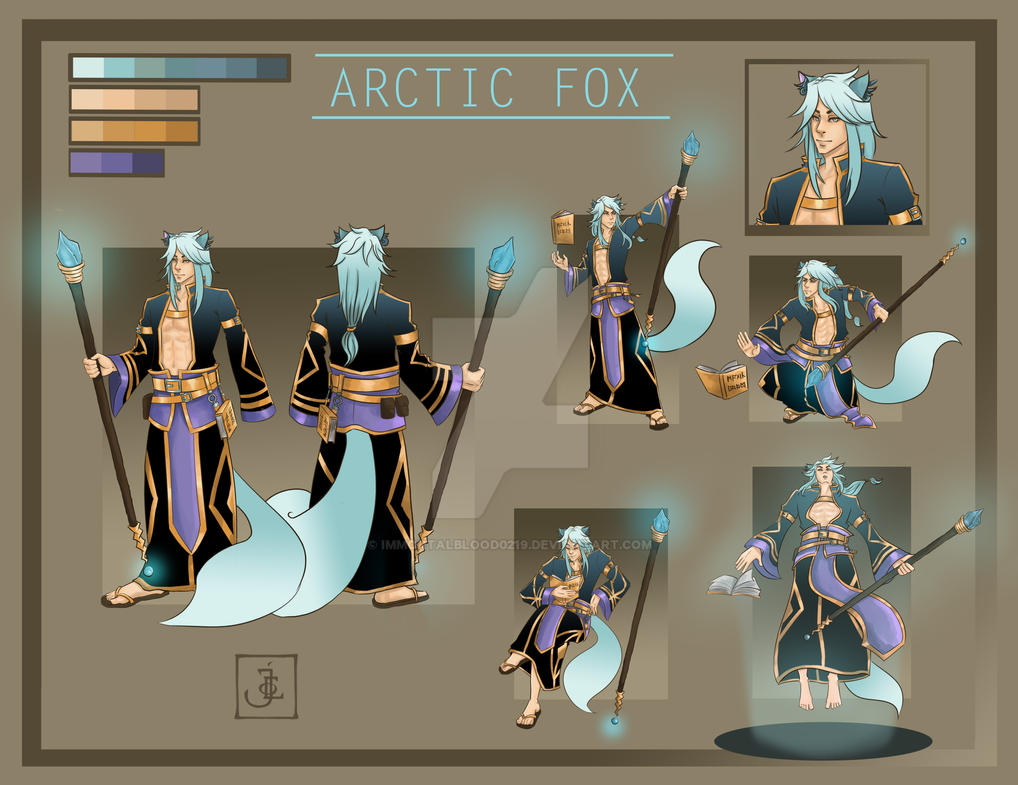 Arctic Fox [Auction - OPEN] by immortalblood0219