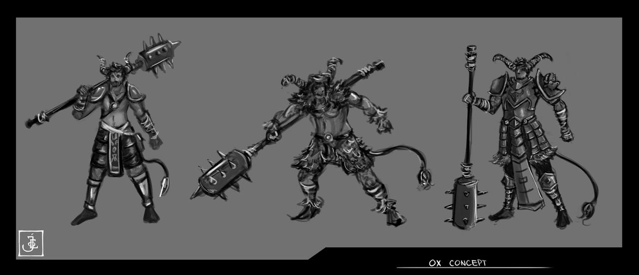 Ox Concepts by immortalblood0219