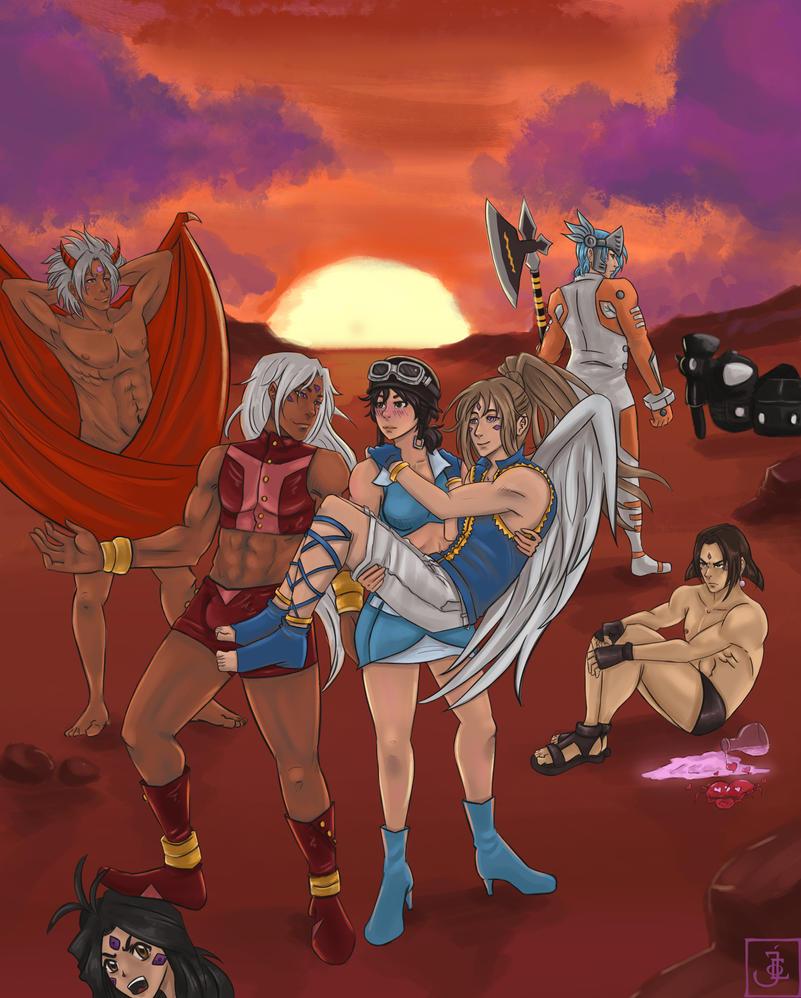 Ah! My Gods by immortalblood0219