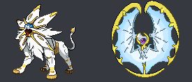 Solgaleo and Lunala Phases Form by Wolfang62