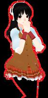MMD : Utaune Nami + DL Model