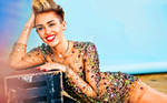 Miley Cyrus Digital painting Portrait
