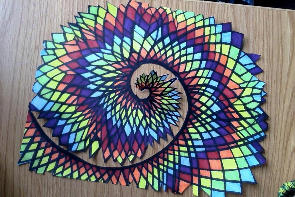 Fibonacci Spiral I by Abstractdesigns1911 on DeviantArt