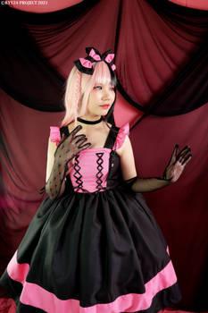 Spies Lalie | Pink and Black JSK