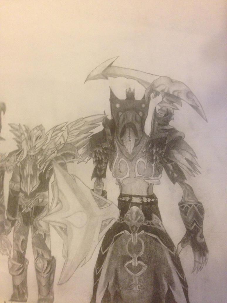 My warlock by Rakund