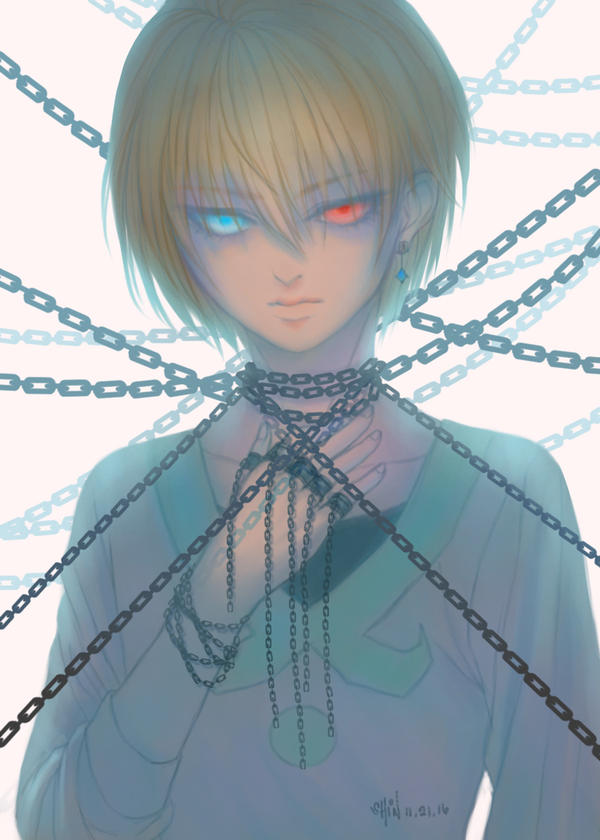 Kurapika by vallarii