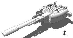 Capital Railgun - 1300mm A01
