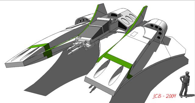 Strike Heavy Fighter A10 by karash-amerius