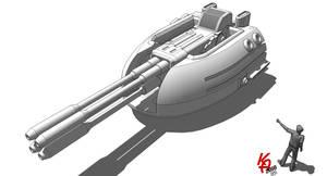 Capital FlakCannon - 150mm A01