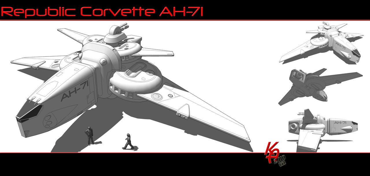 Strike Corvette A71 by karash-amerius