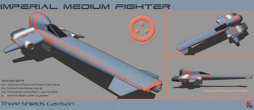 Strike Medium Fighter B04 by karash-amerius