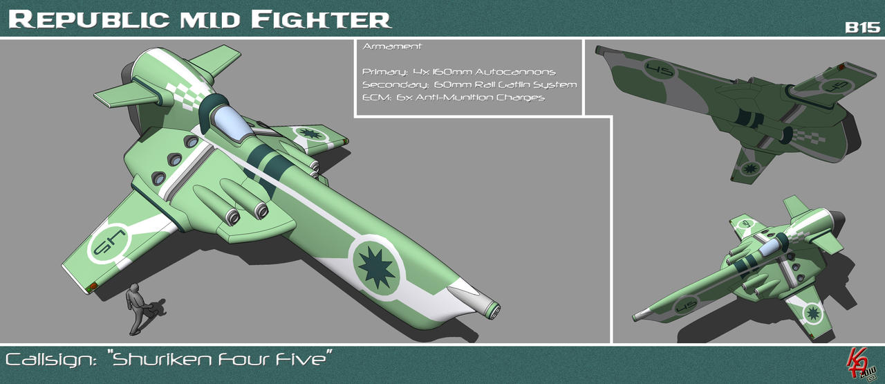 Strike Medium Fighter B15 by karash-amerius