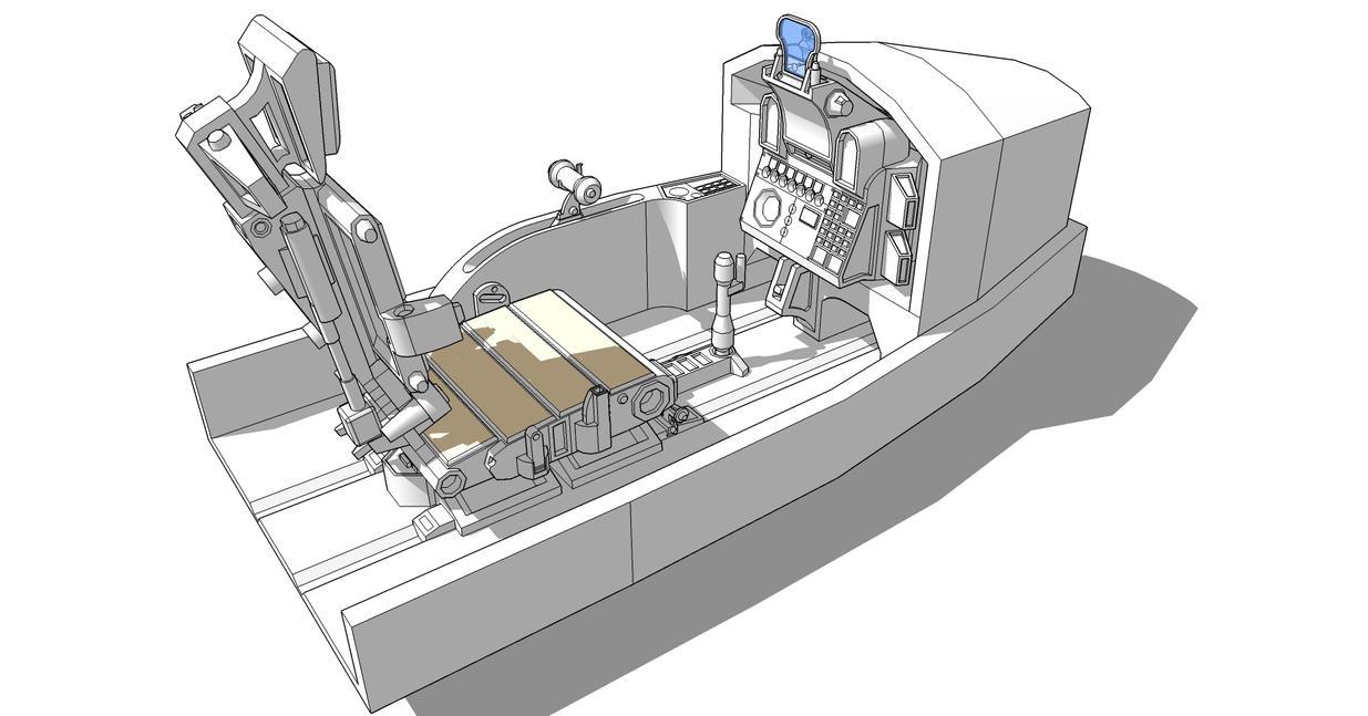 Random Cockpit (Unfinished) by karash-amerius