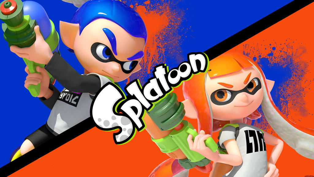 splatoon wallpaper by xxzicexx - photo #1