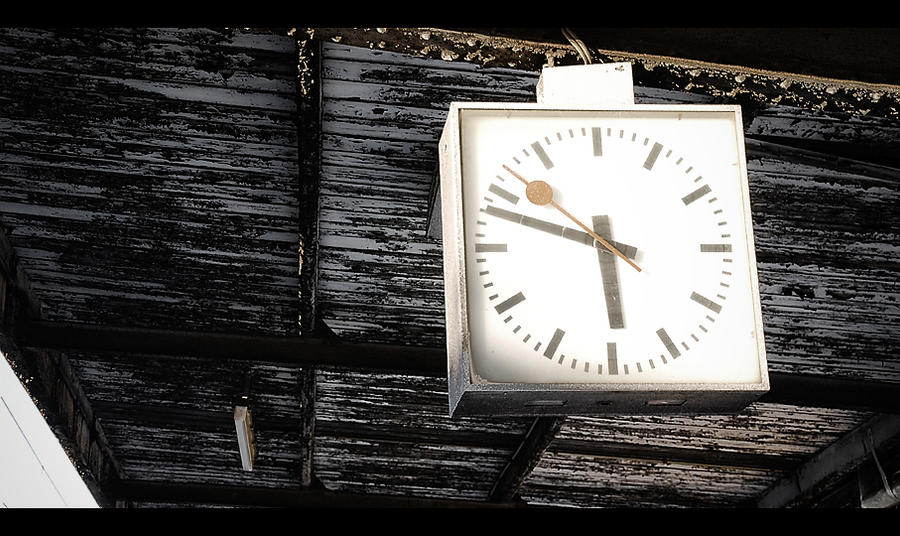 . . .  Time goes by so slowly . . .