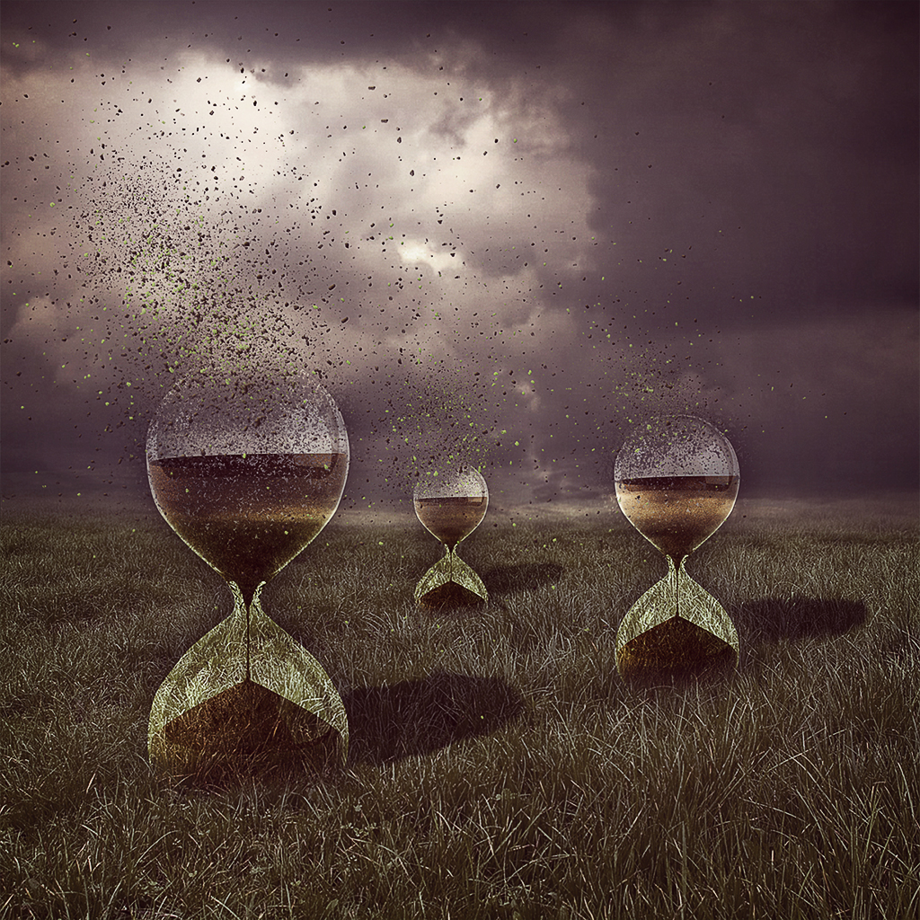 . . . No time to waste . . .