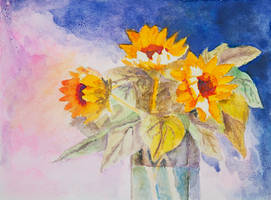 . . . Sunflowers . . . by ChIandra4U