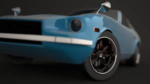 Datsun 240z closeup