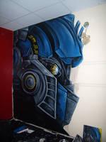 Optimus mural by Mango-Elf