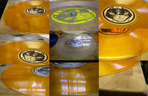 table of vinyls