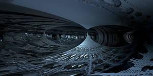ice cavern by skulkey