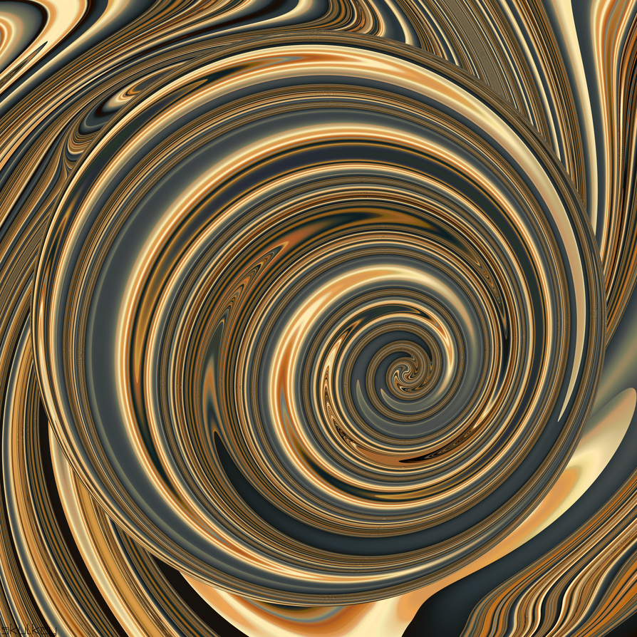 swirly sphere by skulkey