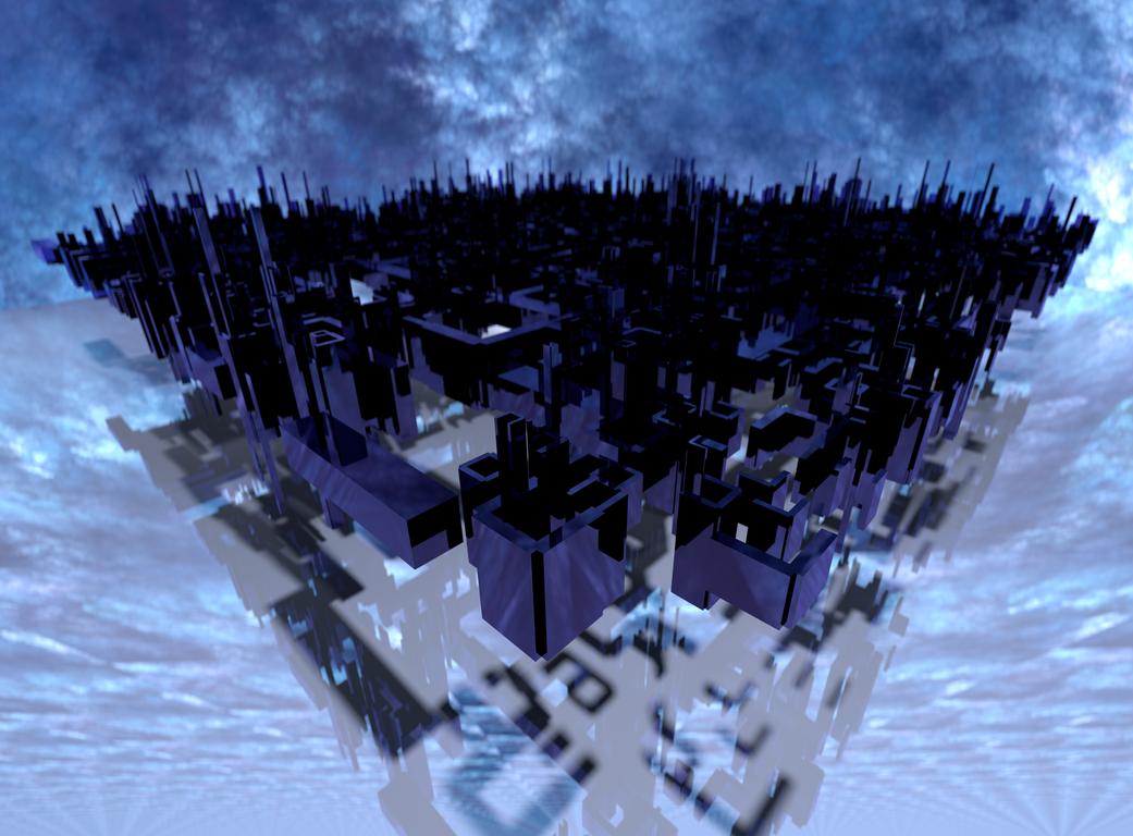 tatasz - fractal land by skulkey