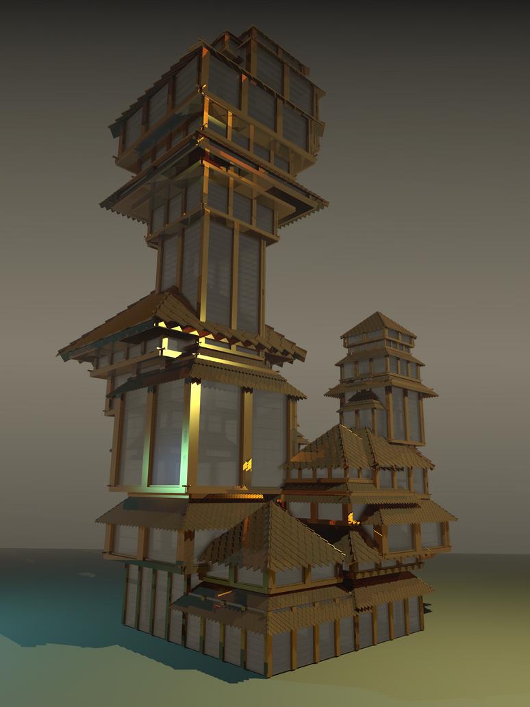 tatasz - tower by skulkey