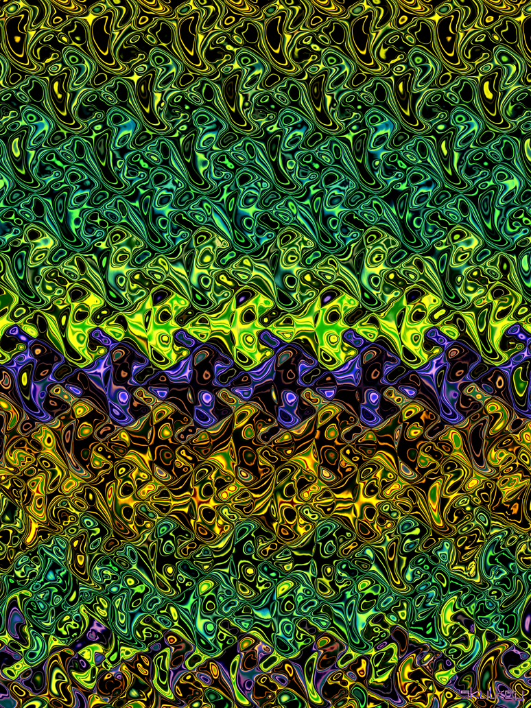 liquid neon by skulkey