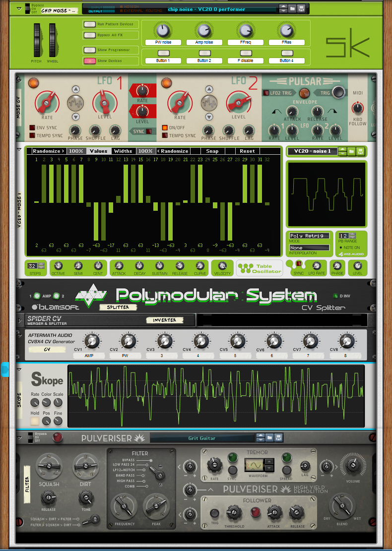 VC20 - noise rig - front by skulkey