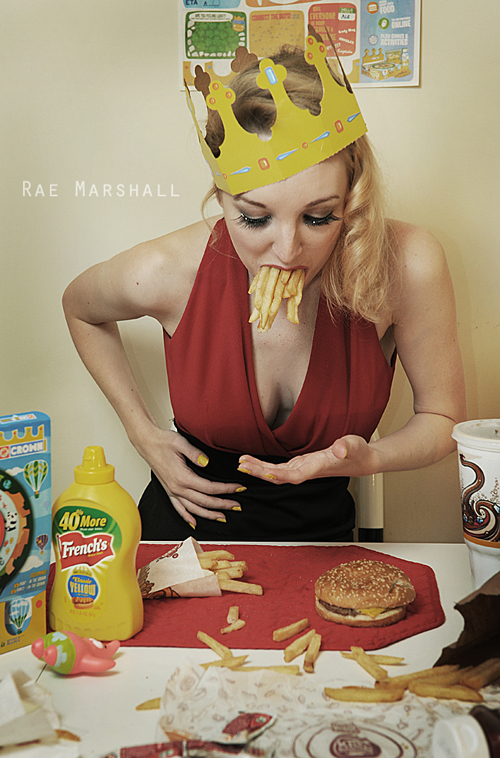 The model who ate fast food by raemarshall