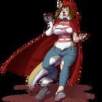 Faith the Werewolf 2/3 [commission]