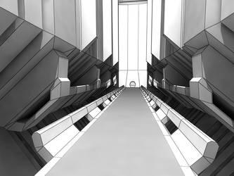 Forerunner tunnel by DEElekgolo
