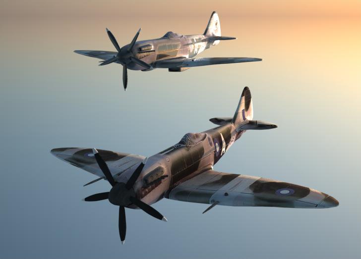 WW2 planes by DEElekgolo