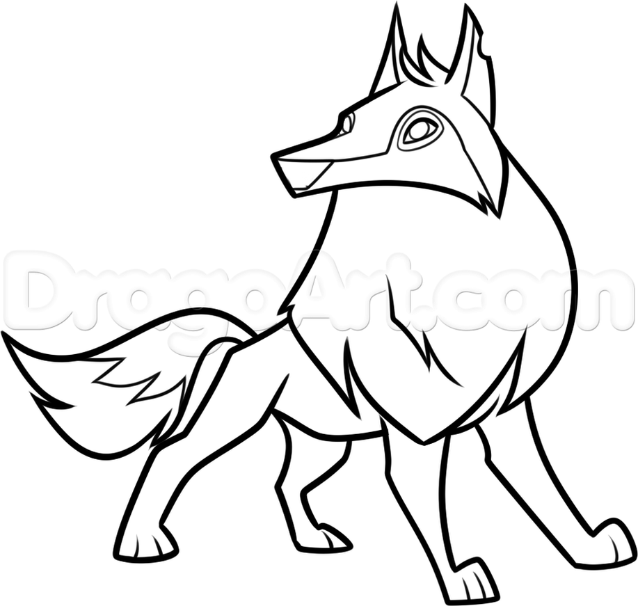 How To Draw An Epic Masterpiece In Animal Jam Howtodrawananimaljamarcticwolf