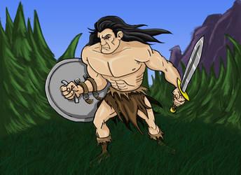 Warrior by Irish-Hellion