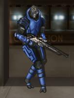 ME2 - Vigilante Commission by PhoenixFuryBane