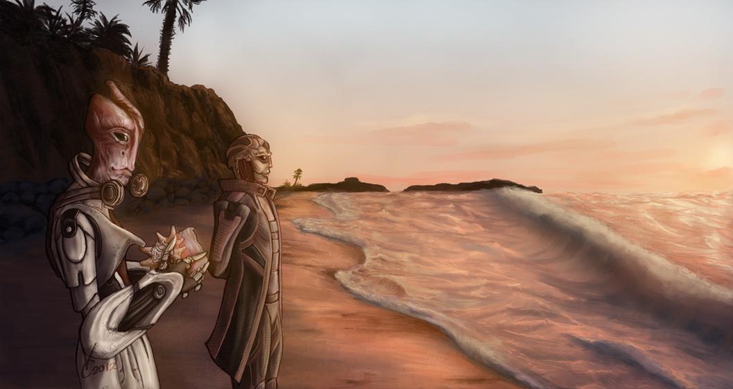 ME3 - Beyond the Sea SPOILERS by PhoenixFuryBane