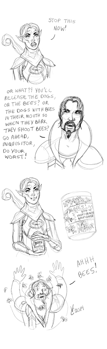 Dragon Age: Inquisition: Do Your Worst by PhoenixFuryBane