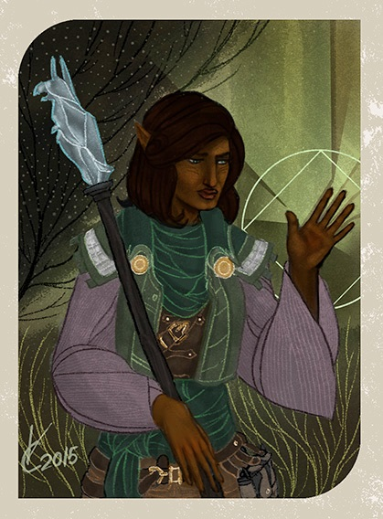 Dragon Age: Inquisition Companion Card by PhoenixFuryBane
