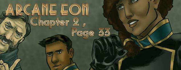 Arcane Eon Page 33 by PhoenixFuryBane