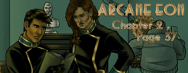 Arcane Eon Page 37 by PhoenixFuryBane