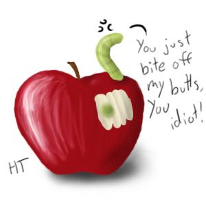 Apple collab by Happy-Tanuki