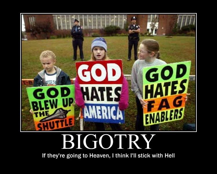 Bigotry by Gekoladie